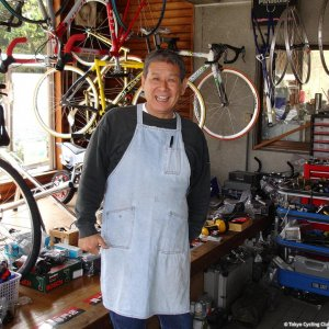 Ome bike shop owner