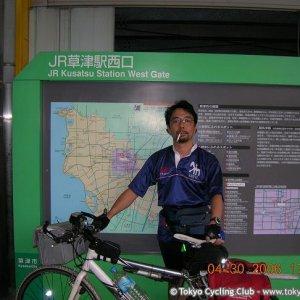 Kusatsu (Shiga) Sta. 滋賀県草津駅にて