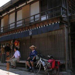 at Tsumago post town (Nagano) - 妻籠宿(長野)にて
