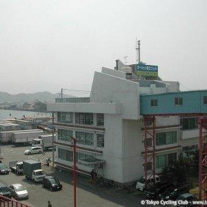 Tokushima`s ferry terminal