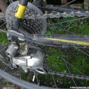 Reverse Chiba Day 1 Muddy Bike