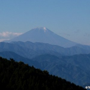 Fuji seen from Wada