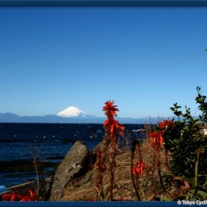 Fujisan seen from Arasaki, Miura Peninsula