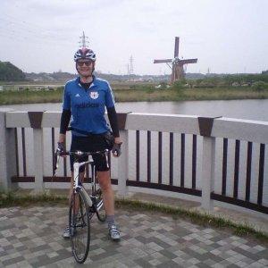 Pete at Sakura windmill
