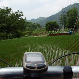 Paddy fields on both sides of Suzugane-toge