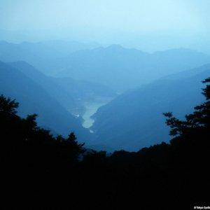 View on Lake Naguri from Arima-toge