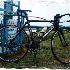 Ridley X-Fire cyclocross bike (with normal 22