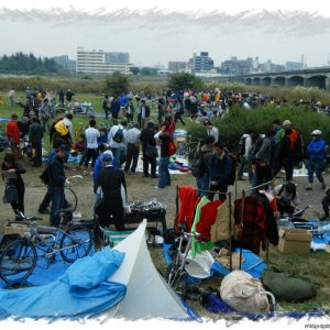 Sekidobashi bi-annual bicycle flea market