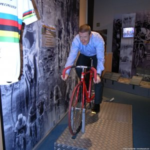 bumpy ride over Flanders cobblestones (Centrum Ronde van Vlaanderen)