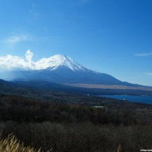 Fujisan seen from MIkuni-toge side