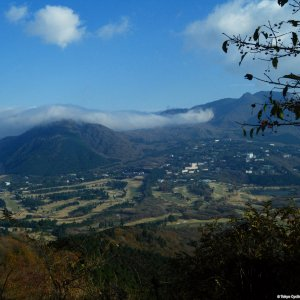 View on Hakone from Nagao-toge