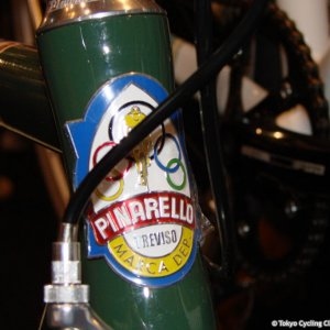 Pinarello Head Tube Badge