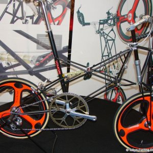 Crazy Moulton style bike