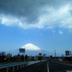 Fujisan seen from Rd138 (Hakoneura Hwy)