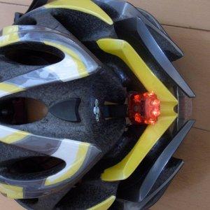 Light in helmet
