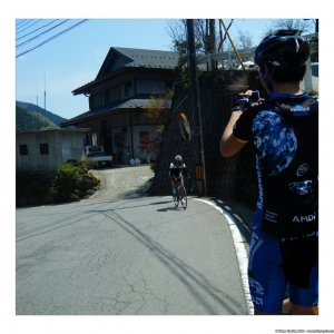 Played the party pooper at Fumiki's training ride today
