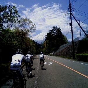 Mt.Fuji hillclimb reconnaissance training