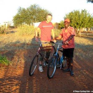 Ploughing the Namib