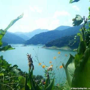 Lake Kannako 神流湖 sandwiched between Gunma and Saitama