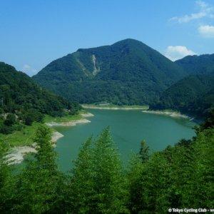 Lake Kannako 神流湖 seen from Gunma Pref. side