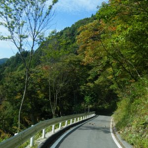 mountain road connecting Super Rindo to Jikkoku-toge Hwy