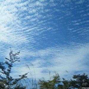 Autumnal skies in Gunma Pref.