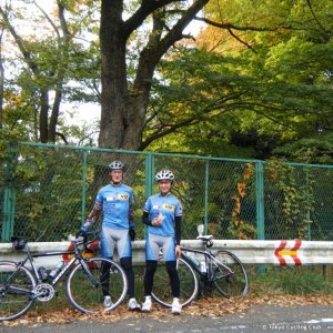 Father & daughter team conquered Makime-toge...