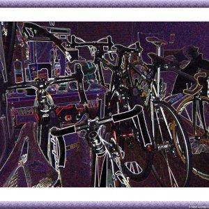 Messy bike room