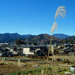 Mountains of Gunma approaching !