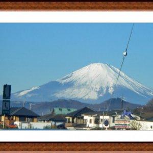 Fujsan en route to Odawara