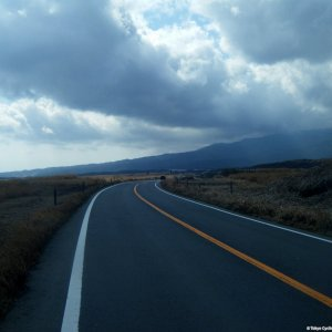 Circumnavigating Fujisan - plenty of lonely but beautiful roads