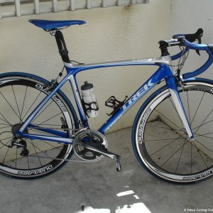 My new Madone 5.5