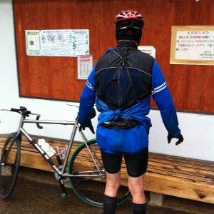 2011 April 9th, ride with rain.