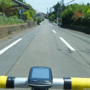 A nice straight somewhere in Hanno-shi, Saitama Pref.