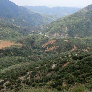 Looking back Little Tujunga Canyon Rd