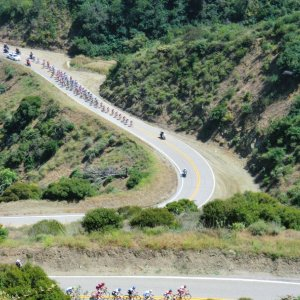 Breakaway and Peloton - ToC Stage 7