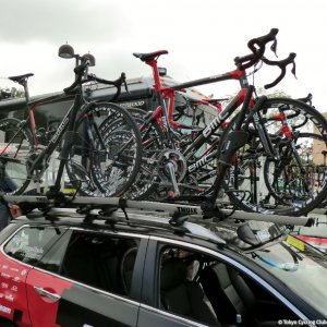 BMC team car - ToC Stage 8