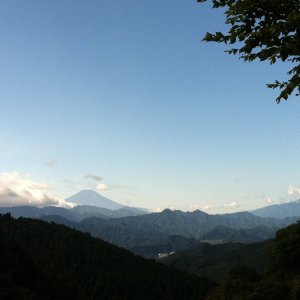 Mt.Fuji from Wada pass.