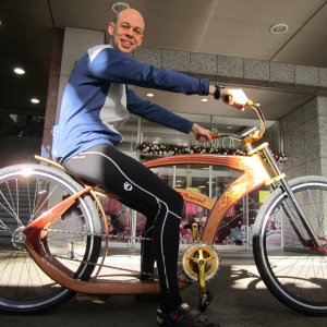 Gus's Amazing Wooden Bike
