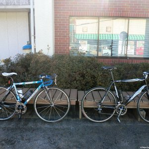 Last ride of 2011 - Colnago and Guerciotti