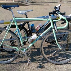 Member's bike/Bianchi w Deltabrake