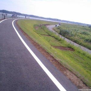 Restored Inbanuma Bike Path