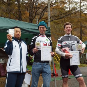 Podium top 3. Murayama-san, AlanW and Gunnar