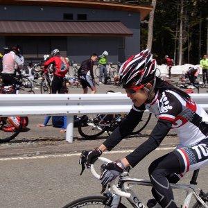Naomi-san at Yatsugatake HC
