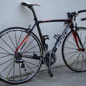My FOCUS Izalco team bike
