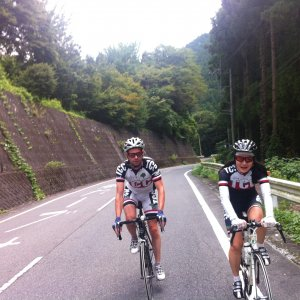 Aron & Chikako before Shiraishi