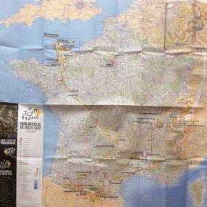 TdF map