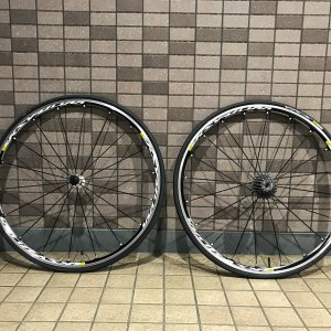 Mavic Elite S wheelset